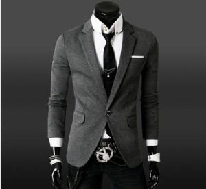 送料無料 ジャケット メンズ テーラード キレイめ スリム フォーマル ※ベルト等の備品は付属しておりません hit_d