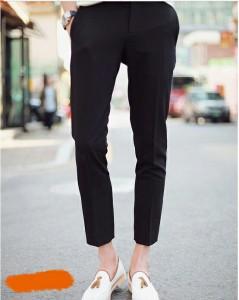 送料無料 サイズ・カラー選べる 2枚セット パンツ メンズ ストレート 無地 アンクル丈 クロップド 細身 きれいめ カジュアル hit_d