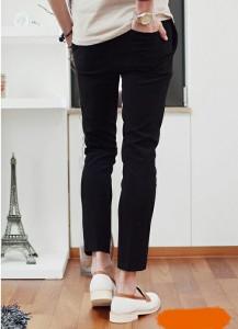 送料無料 サイズ・カラー選べる 3枚セット パンツ メンズ ストレート 無地 アンクル丈 クロップド 細身 きれいめ カジュアル hit_d