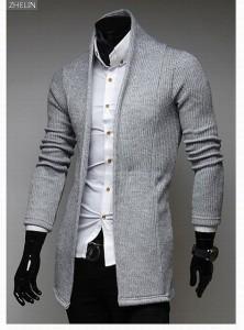 3000円以上送料無料 サイズ・カラー選べる 2枚セット カーディガン メンズ ニット 羽織 ニットジャケット トッパー 無地 モノトーン 細身