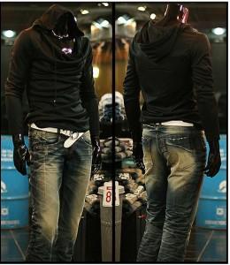 送料無料 サイズ・カラー選べる 2枚セット パーカー メンズ 長袖 カットソー アフガンネック フード付き 無地 カジュアル hit_d