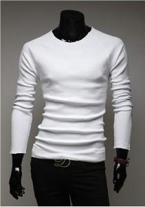 3000円以上送料無料 ニット メンズ 長袖 クルーネック 無地 ラグラン袖 シンプル 細身 カジュアル 着回し きれいめ セーター お兄系