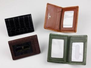 定期入れ メンズ Luciano Valentino ルチアーノバレンチノクロコ型押し パスケース 本革 レザー 大人 ビジネス 通 3000円以上送料無料