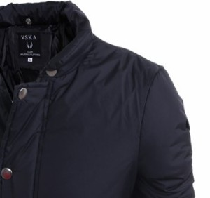 送料無料 ジャケット メンズ アウター ブルゾン ジャンパー ジャケット 中綿ブルゾン ジップアップ 無地 シンプル hit_d