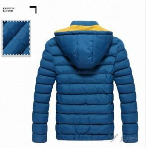 ジャケット メンズ アウター 中綿ブルゾン ジャケット コート フード付き ジップアップ キルティング 無地 シンプル 3000円以上送料無料