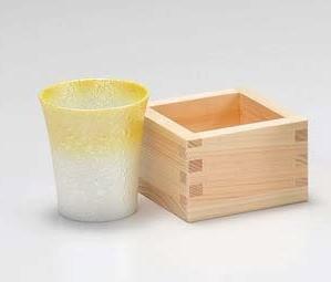 酒器 食器・調理器具 日本酒の器 枡付 小 キッチン用品 食器 和食器 和風