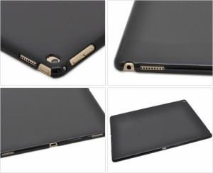 タブレットケース メンズ 小物 タブレット用品 シンプルデザイン iPad Pro12.9インチ用 ハードブラックケース 3000円以上送料無料