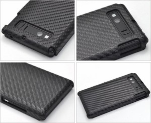 スマートフォンケース メンズ 小物 AQUOS PHONE SERIE SHL21(アクオスフォン セリエ)用 カーボンデザインケース 3000円以上送料無料