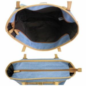 トートバッグ レディース レディースバッグ 金具付き キャンバス 英字ロゴ トート A4サイズ 3000円以上送料無料
