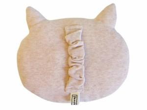 小物 キッズ ベビー オーガニックコットン オーガニック にゃんこ ネコ だっこ枕 日本製 国産品 3000円以上送料無料