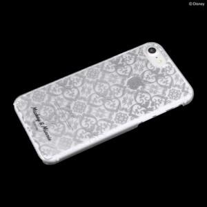スマートフォンケース 小物 iPhone7 ディズニー キャラクター ハード ケース シルバー ミッキー&ミニー 3000円以上送料無料