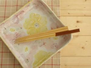 大鉢 食器・調理器具 ゆめか 四方 23.5×5.5cm×1 MADE IN JAPAN 日本製 国産 キッチン用品 食器 和食器 和風 3000円以上送料無料