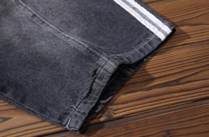 ショートパンツ メンズ ボトムス パンツ ハーフパンツ ハーパン ハーフズボン ライン デニム Gパン イーパン 3000円以上送料無料