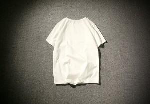 3000円以上送料無料 Tシャツ メンズ トップス シャツ プリント 文字 クルーネック シンプル カジュアル ゆったり 大きいサイズ
