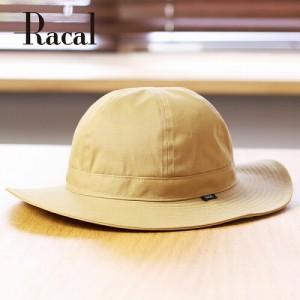 ハット メンズ ラカル 帽子 racal メトロハット ロングブリム シック 秋 冬 トレンド キャメル