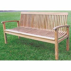 ベンチ ガーデンベンチ 木製 マルティナベンチ ベンチ 幅1680ミリ ガーデンファニチャー 組立