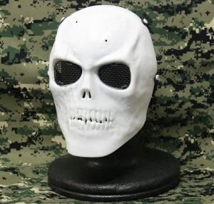 【セール特価】【セール特価】KINGRIN V3 スカル 金属メッシュ フェイスマスク