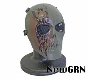 KINGRIN V3 スカル 金属メッシュ フェイスマスク