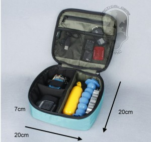 TMC GoPro ソフト 大容量収納 ケース 防水ジッパー メッシュポケット BBL