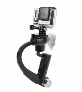 TMC GoPro 小型 安定 自撮り棒 弓型 グリップ HERO3/3+/4対応 RD