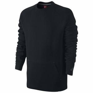 (取寄)ナイキ メンズ テック フリース クルー ハイパーメッシュ Nike Men's Tech Fleece Crew Hypermesh Black Black Black