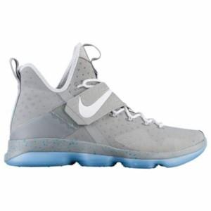 (取寄)ナイキ メンズ バッシュ レブロン 14 バスケットシューズ Nike Men's LeBron 14 Matte Silver White Glow