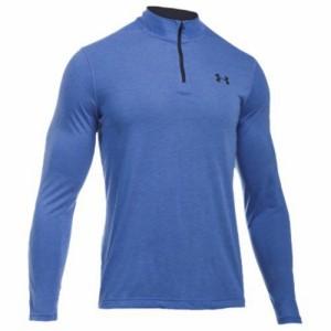 (取寄)アンダーアーマー メンズ スレッドボーン 1/4 ジップ トップ Under Armour Men's Threadborne 1/4 Zip Top Blue Marker Black