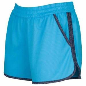 (取寄)アンダーアーマー レディース テック ショーツ Under Armour Women's Tech Shorts Island Blue Midnight Navy