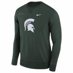 (取寄)ナイキ メンズ カレッジ チーム サイドライン クルー Nike Men's College Team Sideline Crew Green