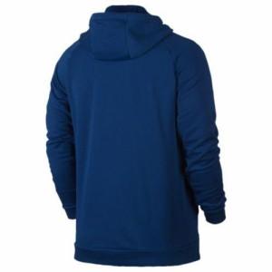 (取寄)ナイキ メンズ ライトウェイト フルジップ フリース フーディ Nike Men's Lightweight Full-Zip Fleece Hoodie Blue Jay White