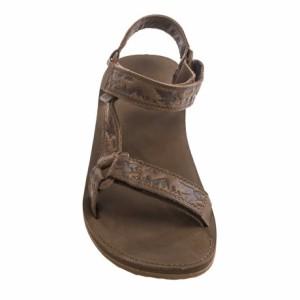 (取寄)テバ メンズ オリジナル ユニバーサル クラフテッド サンダル Teva Men's Original Universal Crafted Sandals Black