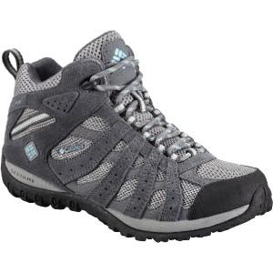 (取寄)コロンビア レディース レドモンド ミッド ハイキング ブーツ Columbia Women Redmond Mid Hiking Boot Light Grey/Sky Blue