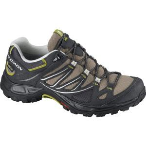 (取寄)サロモン レディース エリプス GTXハイキングシューズ Salomon Women Ellipse GTX Hiking Shoe Thyme/Asphalt/Dark S-green