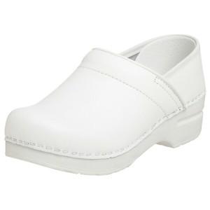 ダンスコ プロフェッショナル レディース ボックスレザー クロッグ ホワイト dansko Professional Box Leather Clog White