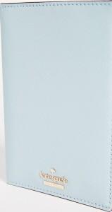 (取寄)Kate Spade New York Cameron Street Passport Holder ケイトスペード キャメロン ストリート パスポート ホルダー Shimmer Blue
