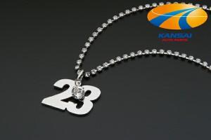 【限定特価!なくなり次第終了!】★SuperGT×GIO★スーパーGTカーナンバーネックレスCar No.23/NISMO[cost]