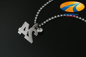 【限定特価!なくなり次第終了!】★SuperGT×GIO★スーパーGTカーナンバーネックレスCar No.24/KONDO RACING[cost]
