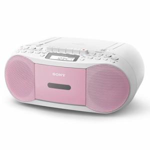 【即納・送料無料】 SONY ソニー CDラジオカセットレコーダー CDラジカセ CFD-S70(P) ピンク