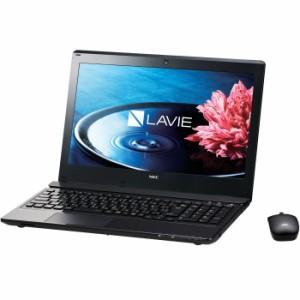 NEC PC-NS350HAB LAVIE Note Standard クリスタルブラック [ノートパソコン15.6型ワイド HDD1TB ブルーレイドライブ] 【送料無料】