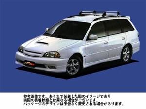 ルーフキャリア タフレック HR22 トヨタ TOYOTA カルディナ / AT211G CT216G ST210W TUFREQ 精興工業