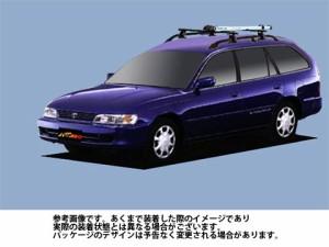 システムキャリア トヨタ TOYOTA カローラワゴン 型式 AE100G AE101G AE104G AF0 サイクル フォークマウント 1台分 タフレック TUFREQ
