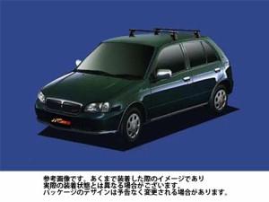 システムキャリア トヨタ TOYOTA スターレット 型式 EP91 EP95 NP90 ベースキャリア ベースキット 1台分 VB6 FFA1 TA1