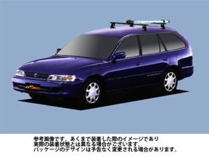 システムキャリア トヨタ TOYOTA スプリンターワゴン 型式 AE100G AE101G AE104G AF0 サイクル フォークマウント 1台分 タフレック TUFRE