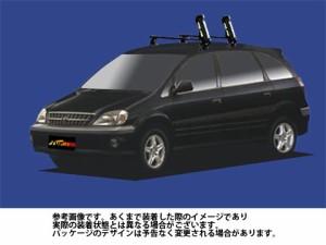 システムキャリア トヨタ TOYOTA ナディア 型式 SXN10 SXN15 SS0 スキースノボ 斜積 1台分 タフレック TUFREQ