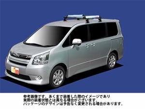システムキャリア トヨタ TOYOTA ノア 型式 ZRR70W ZRR75W ZRR70G ZRR75G RA6 ルーフワイド 1台分 タフレック TUFREQ