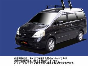 システムキャリア ▽日産 NISSAN☆ セレナ 型式 C24 SS スキースノボ 斜積 1台分 タフレック TUFREQ ニッサン