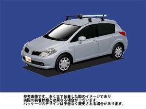 システムキャリア ▽日産 NISSAN☆ ティーダ 型式 C11 AFサイクル フォークマウント 1台分 タフレック TUFREQ ニッサン