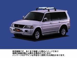 システムキャリア ミツビシ 三菱 MITSUBISHI チャレンジャー 型式 K94W K96W K99W RA4 ルーフキャリア標準 1台分 タフレック TUFREQ