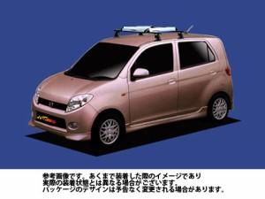 システムキャリア ダイハツ DAIHATSU  マックス / L950S L952S L960S L962S / RA4シリーズ 1台分 ルーフキャリアアタッチメント標準 タフ