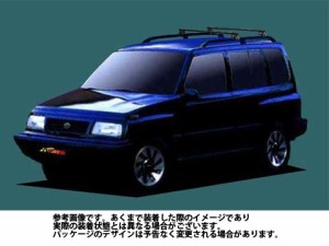システムキャリア スズキ SUZUKI エスクードノマド 型式 TD01W TD11W ベースキャリア ベースキット 1台分 タフレック TUFREQ VB6 FRA1